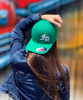 FD old english Ball cap Green