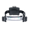 foxfury command lopro white & green led helmet light