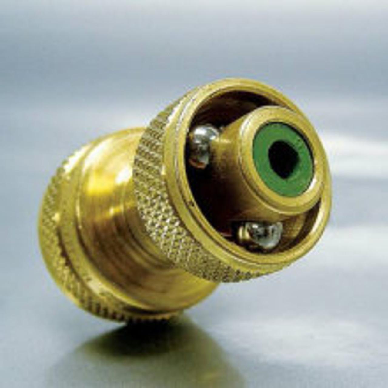 Bulls Eye Nozzle, GHT Thread, Brass