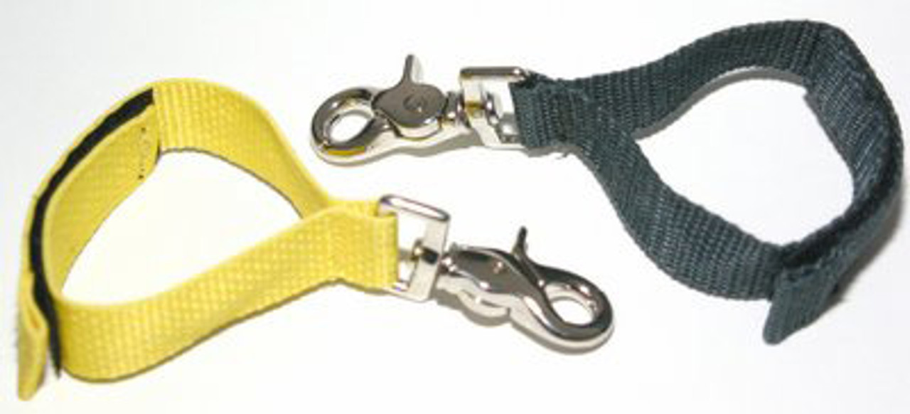 Fire Hooks Yellow Glove Strap is constructed of poly-nylon