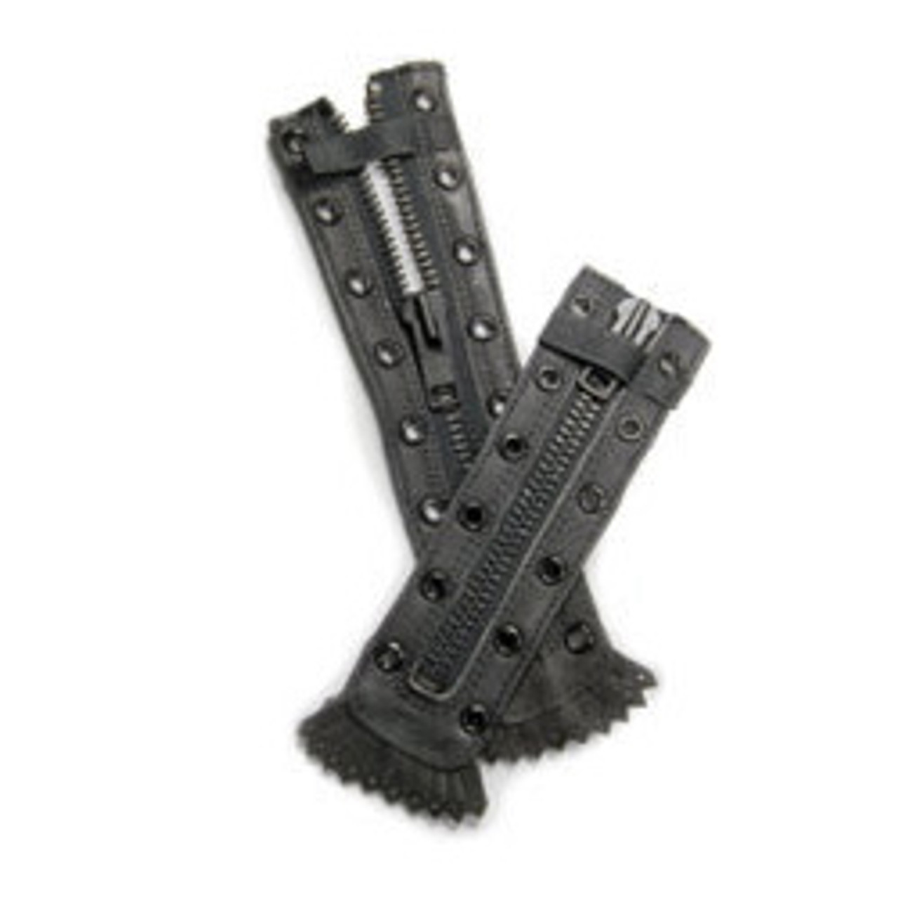 Pro Warrington Replacement Zippers for Station Boot Model 3003 (pair) 9 or 10 Hole