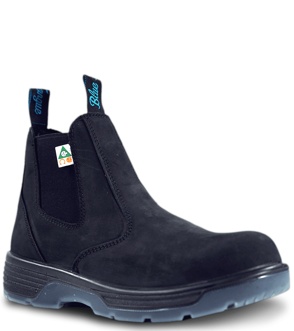 Blue Tongue Station Slip On Boot with Composite Toe