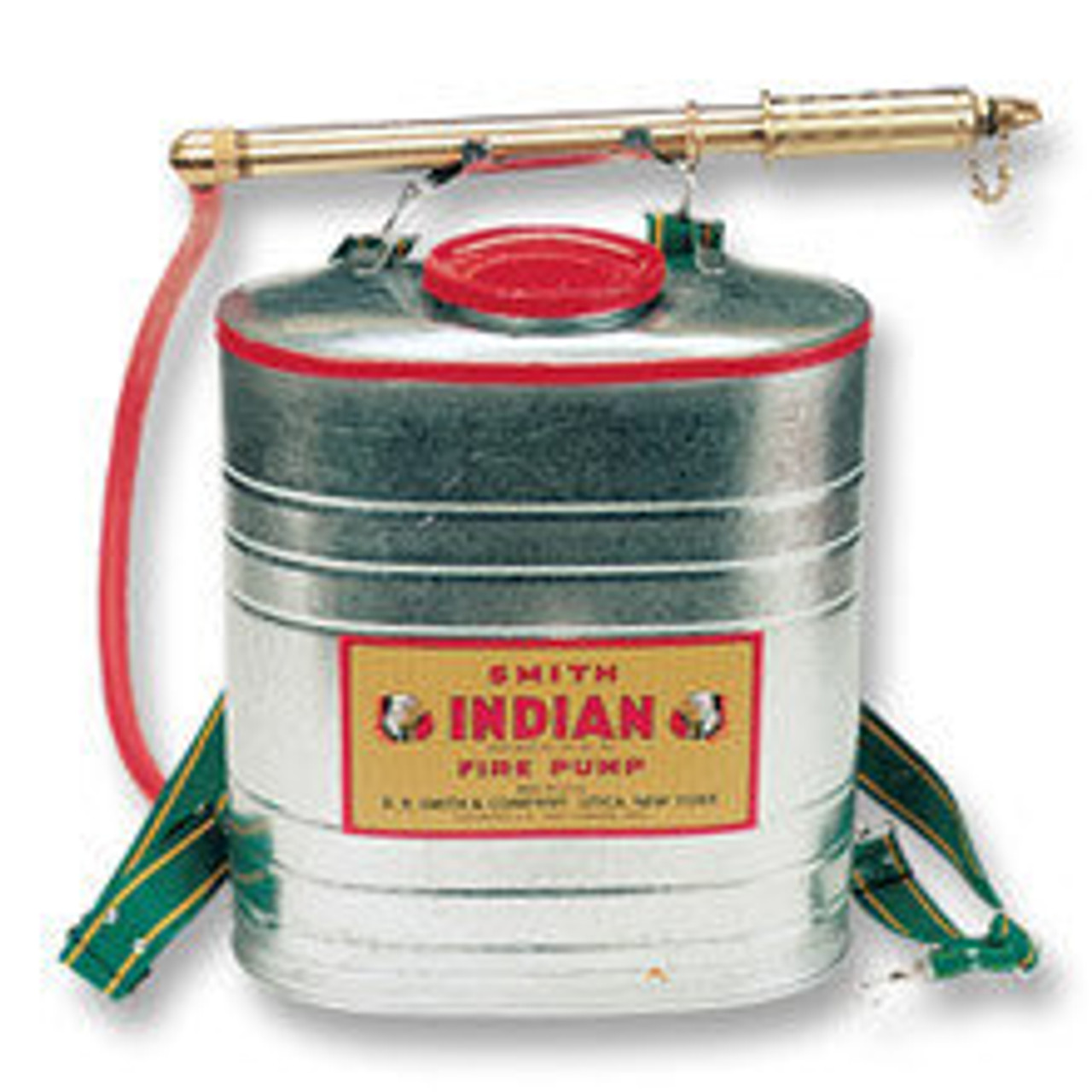 Indian Fire Pump 90G Galvanized Steel, 5 Gallon Tank