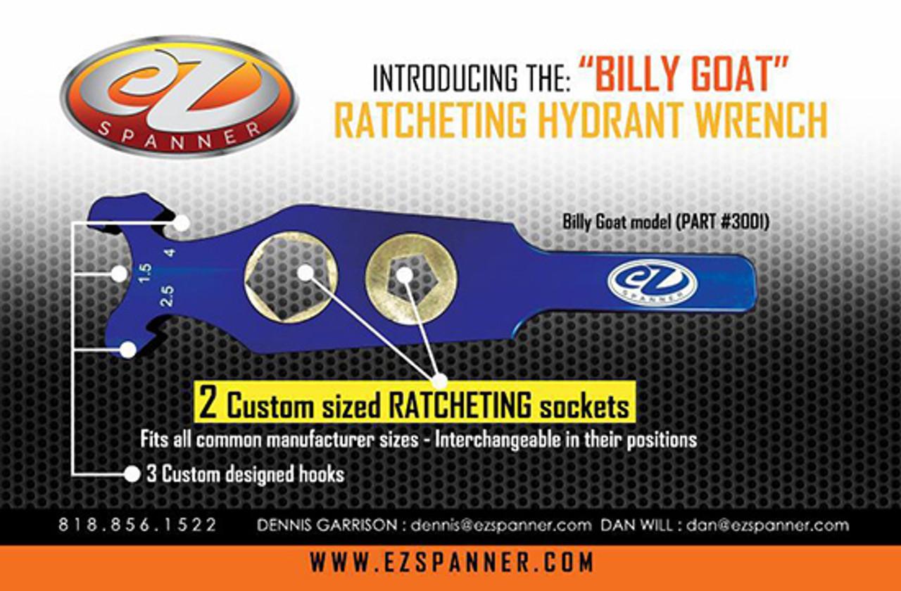 EZ Spanner Billy Goat Wrench