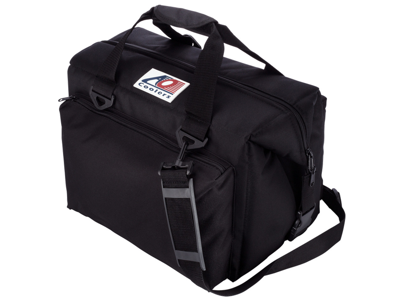 AO Coolers Black Canvas 24 pack Cooler
