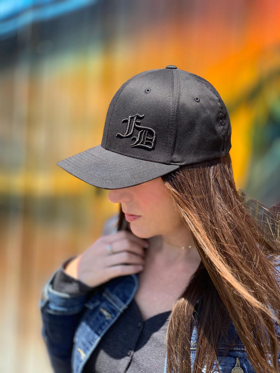FD old english ball cap black