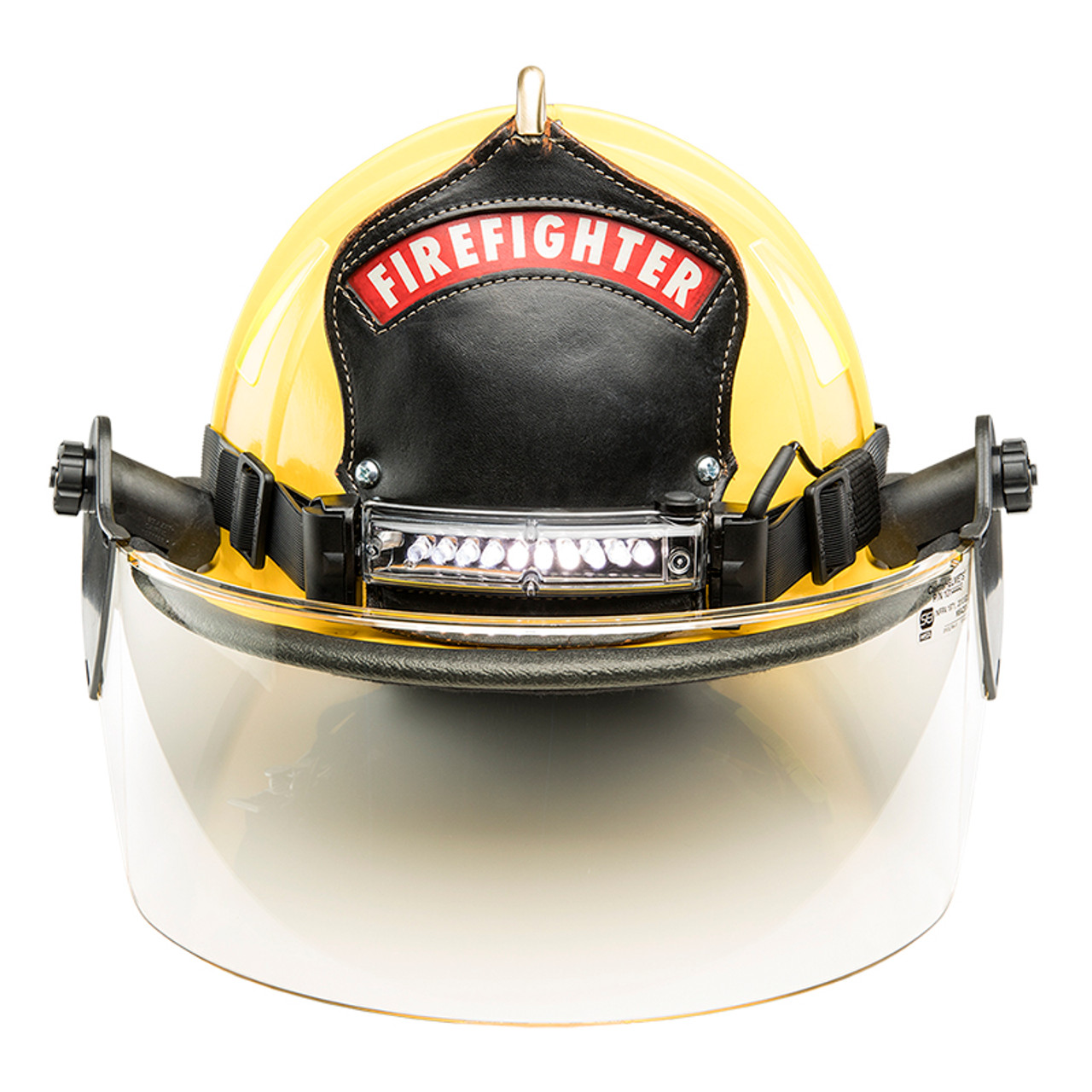 foxfury command lopro white led fire helmet light
