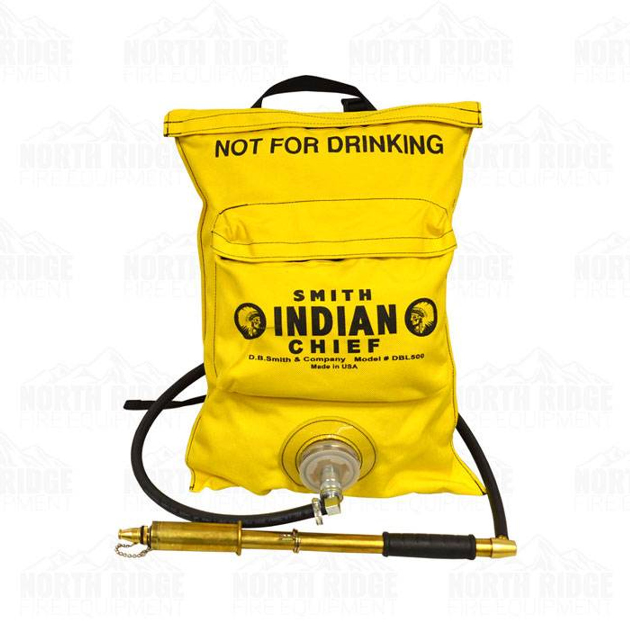 Indian DBL500 Dual Collapsible Fire Pump Bag