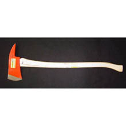 "Council Tool Pickhead Fireman's axe with a 32"" curved hickory handle."