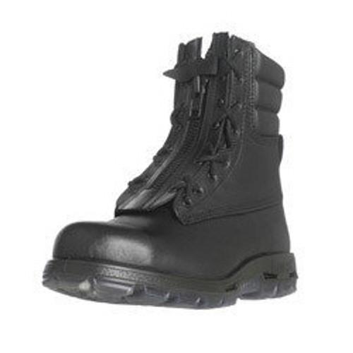 Redback Rescue Boot Black Full Grain Steel Toe Boot. AUSTRALIAN SIZING.