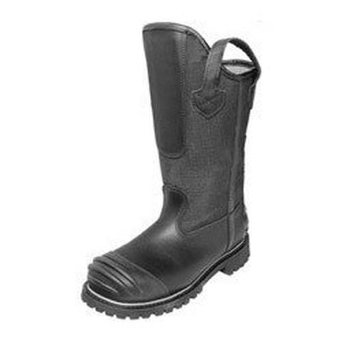 Pro Warrington 14 inch Black Power Toe Power Heel Leather Advance Rip Stop with Sloped Back Structure Boot
