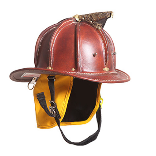 Cairns N5A New Yorker Leather Fire Helmet (Natural)