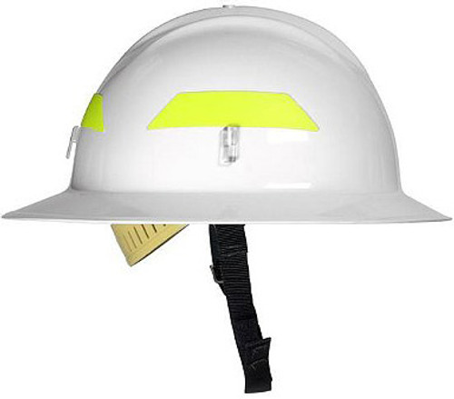 Bullard Wildland Fire Fighter Helmet Full Brim with Ratchet