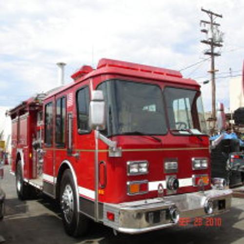 1988 E One Pumper Fire Truck