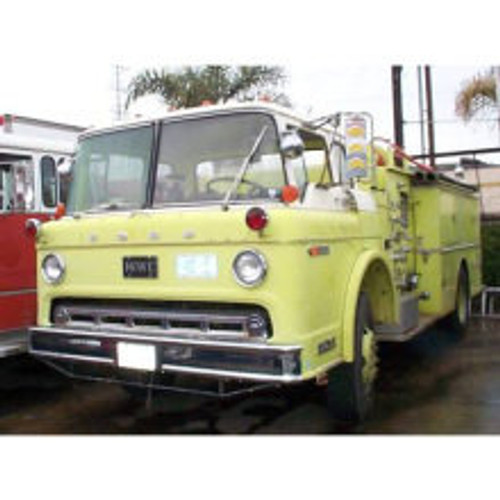Howe Ford Fire Engine Pumper 1974
