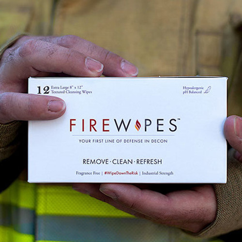 Firewipes Firefighter Skin Decontamination Wipes