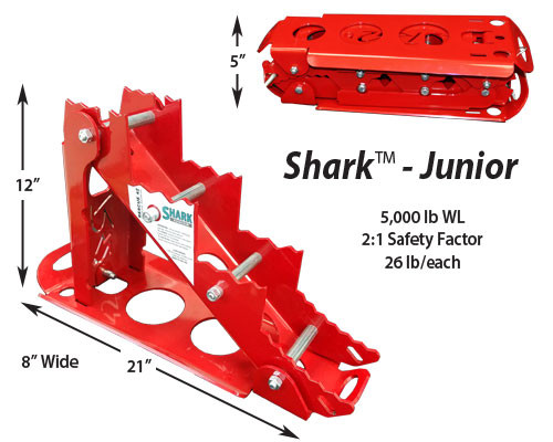 Rescue 42 Shark Junior Chocks
