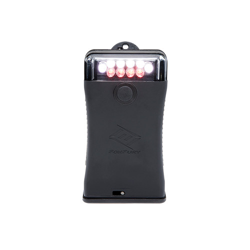 Foxfury scout clip light with white & red LED's