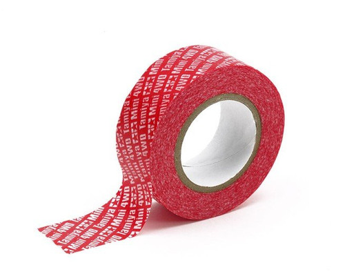 Tamiya #95554 - Mini 4WD Multipurpose Tape (20mm Width, Red)