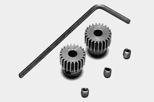 Tamiya #53102 - Tamiya 0.4 Pinion Gear Set 23
