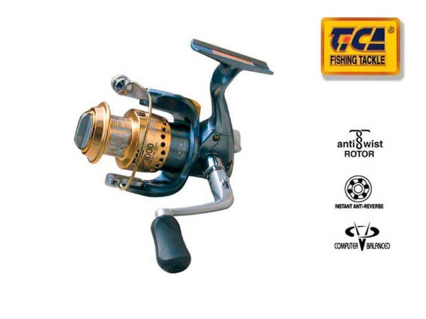 Tica Camry SP3500 Spinning Fishing Reel - FREE Shipping