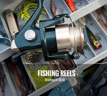 Fishing Reel and Tools