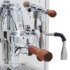 BEZZERA DUO PID e61 Lever 0.45/1.0 litre Rotary Pump Tank and/or Plumbed Espresso Coffee Machine - Eureka Atom Chrome Doser-less Coffee Grinder Combo