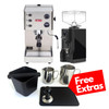 LELIT PL81T GRACE PID Espresso Coffee Machine - EUREKA MIGNON SPECIALITA Coffee Grinder - Black - Combo - With Free Extras