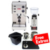 LELIT PL81T GRACE PID Espresso Coffee Machine - LELIT FRED Coffee Grinder - Combo - With Free Extras