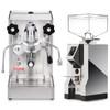LELIT PL62X MaraX e61 1.8L Espresso Coffee Machine - EUREKA MIGNON SPECIALITA Coffee Grinder - CHROME - Combo - With Accessory Package