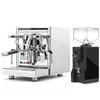 ECM TECHNIKA V e61 PID 2.1L Espresso Coffee Machine - EUREKA MIGNON SPECIALITA Coffee Grinder - BLACK - Combo - With Accessory Package