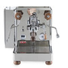 LELIT PL162T BIANCA e61 Double Boiler PID 0.8/1.5L Espresso Coffee Machine - V2 - LELIT WILLIAM Coffee Grinder - CHROME - Package