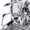 Synchronika is beautifully finished in chrome and highly polished stainless steel.