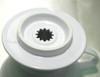 Tiamo Ceramic Coffee Filter Holder White