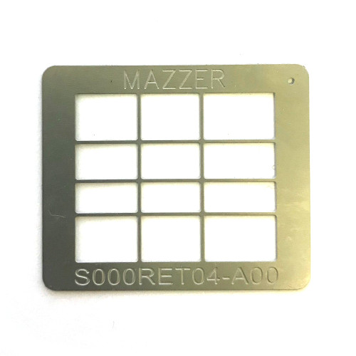 Coffee anti-clumping mesh 32x38 mm - S000RET04 - MAJOR - MAZZER