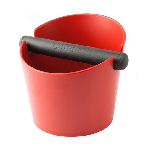 Cafelat Tubbi Large Coffee Knock Box Red