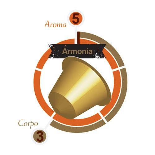 "MOKITO ARMONIA ""HARMONY"" - Nespresso Compatible Capsules - 10x pack"