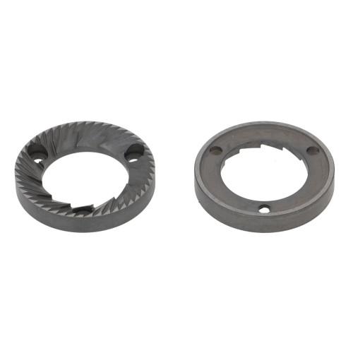 Coffee Grinder Blades / Burrs Flat 50x30x7.6mm LH SX CCW 3 hole (Pair) - ANFIM HAUS