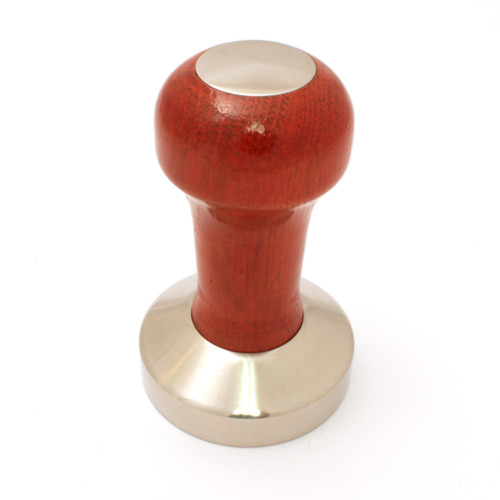 Tamper 57mm Wood and Stainless Steel