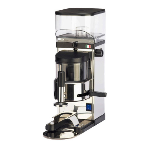 BEZZERA BB012 - 64mm Flat Burr Doser Automatic Coffee Grinder - Chrome