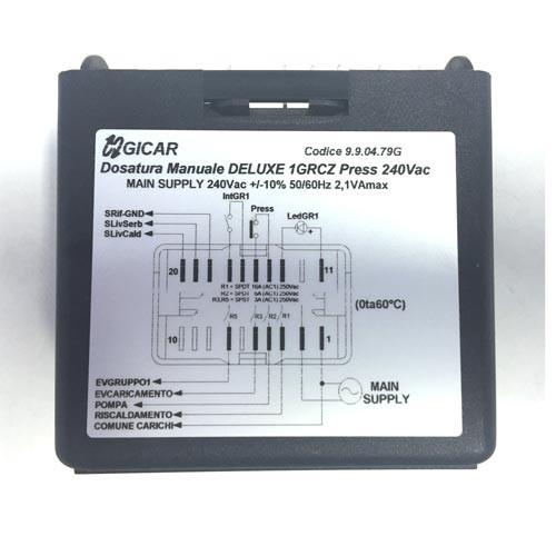 Level Regulator Control Box Deluxe 240V GICAR 9.9.04.79G