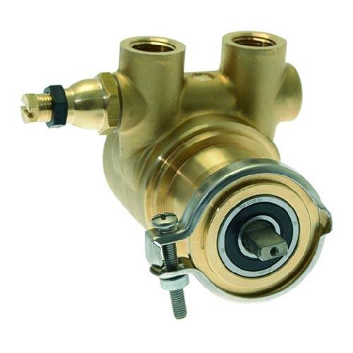 "Rotary Vane Pump 200 l/h 3/8 "" BSPF NPT  - Clamp fitting Flat-shaft - FLUID-O-TECH ROTOFLOW"