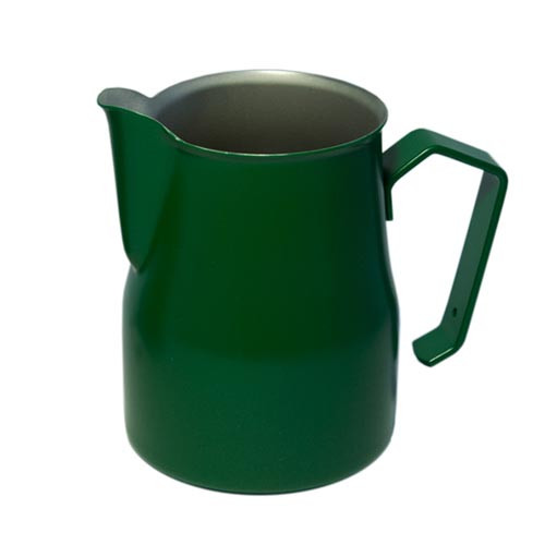 Motta Europa 500ml Milk Steaming Jug / Pitcher Green