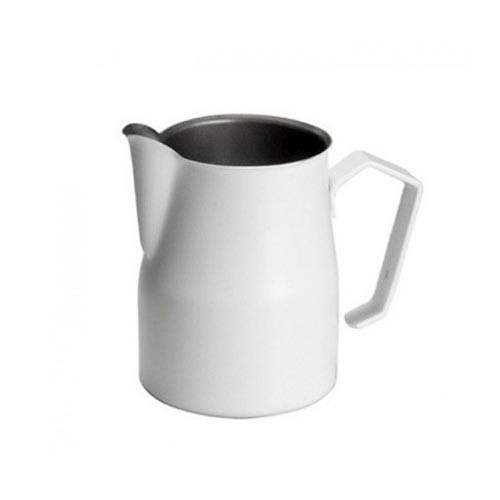 Motta Europa 350ml Milk Steaming Jug / Pitcher White