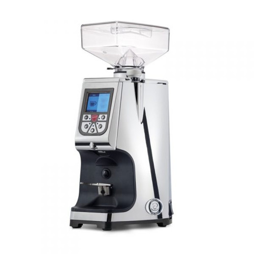 EUREKA ATOM 60mm Flat Burr Doser-less Coffee Grinder - V2 - CHROME