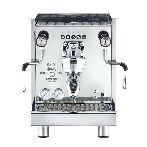 BEZZERA BZ16 DE Commercial Volumetric 2L Espresso Coffee Machine - PLUMBED