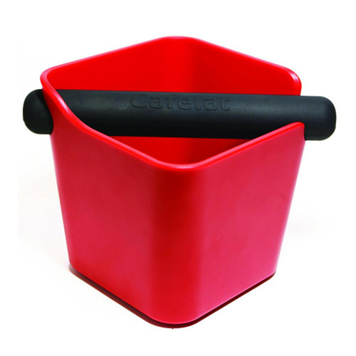 Cafelat Home Coffee Knock Box Red