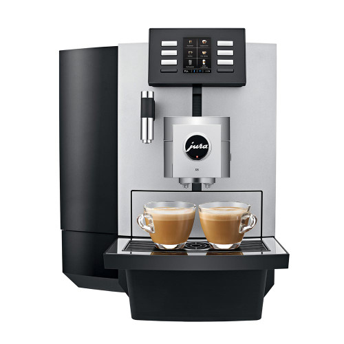 JURA X8 Professional Office Automatic Espresso Coffee Machine - Platinum