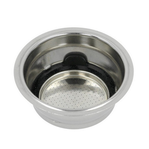 Coffee Filter Basket 2-CUP Double - ID 51mm - 61.5mm x 26.5mm - Pressurised - DELONGHI 5513281001