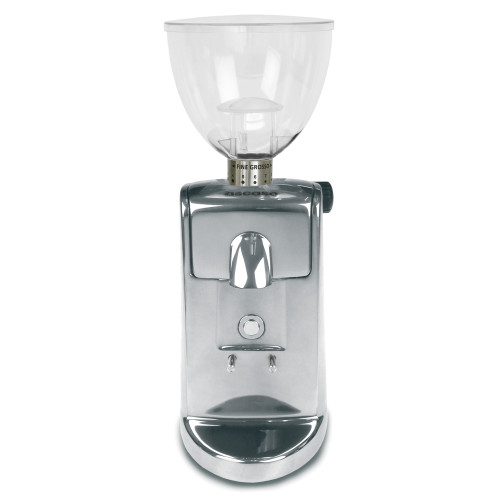 ASCASO I-MINI I-1 54mm Flat Burr Doser-less Coffee Grinder - POLISHED ALUMINIUM